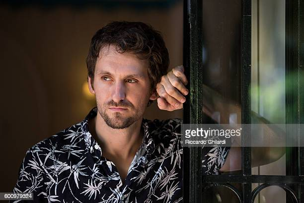 Director Raul Arevalo is photographed for Self Assignment on September 3 2016 in Venice Italy