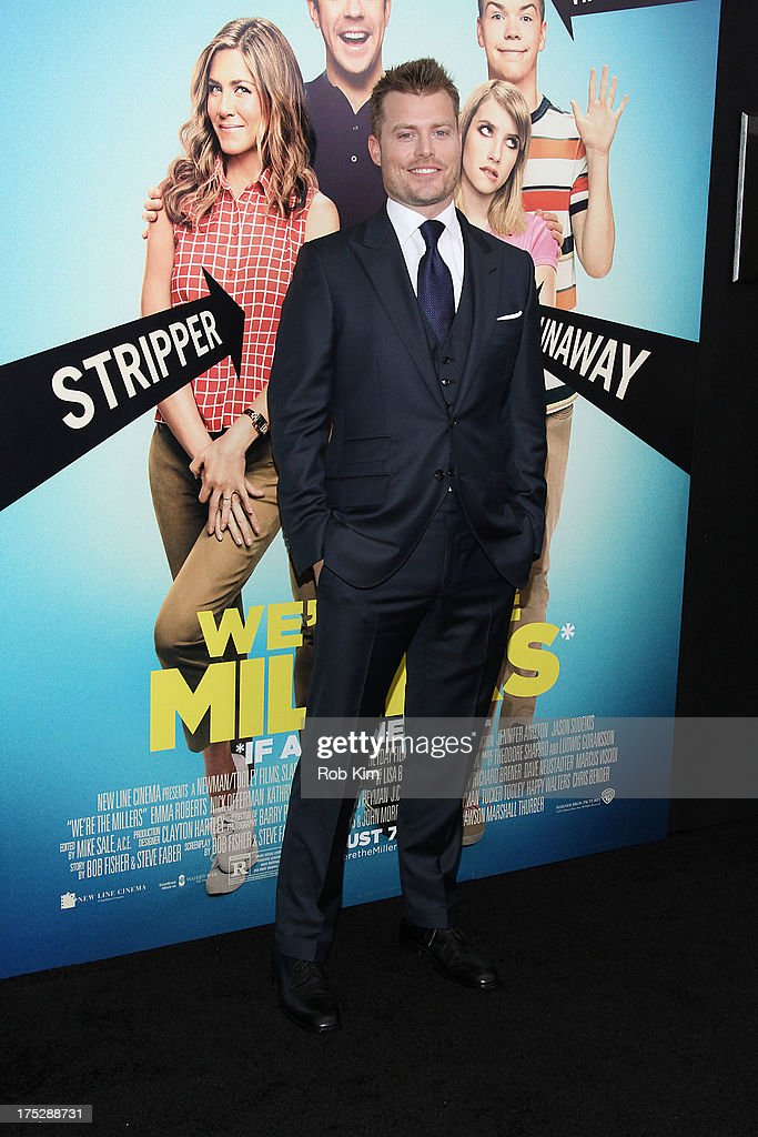 Director Rawson Marshall Thurber attends the 'We're The Millers' New York Premiere at Ziegfeld Theater on August 1, 2013 in New York City.