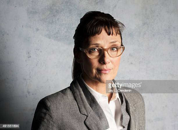 Director Rebecca Miller of 'Maggie's Plan' is photographed for Los Angeles Times on September 25 2015 in Toronto Ontario PUBLISHED IMAGE CREDIT MUST...