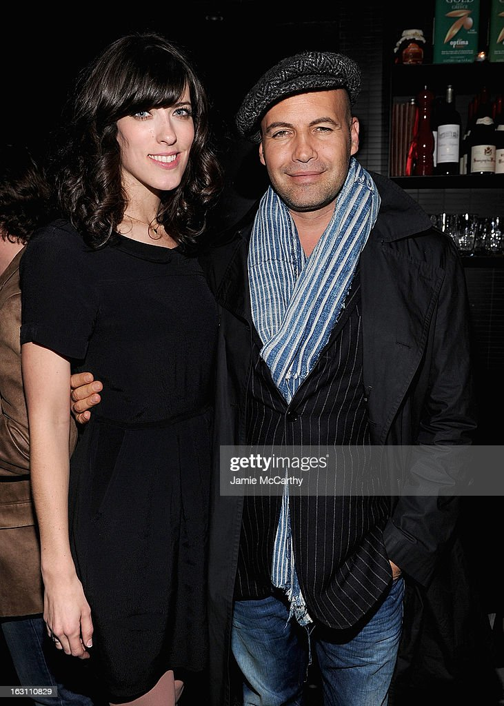 Director Rebecca Thomas and <a gi-track='captionPersonalityLinkClicked' href=/galleries/search?phrase=Billy+Zane&family=editorial&specificpeople=211418 ng-click='$event.stopPropagation()'>Billy Zane</a> attend the after party for The Cinema Society & Make Up For Ever screening of 'Electrick Children' at Hotel Americano on March 4, 2013 in New York City.