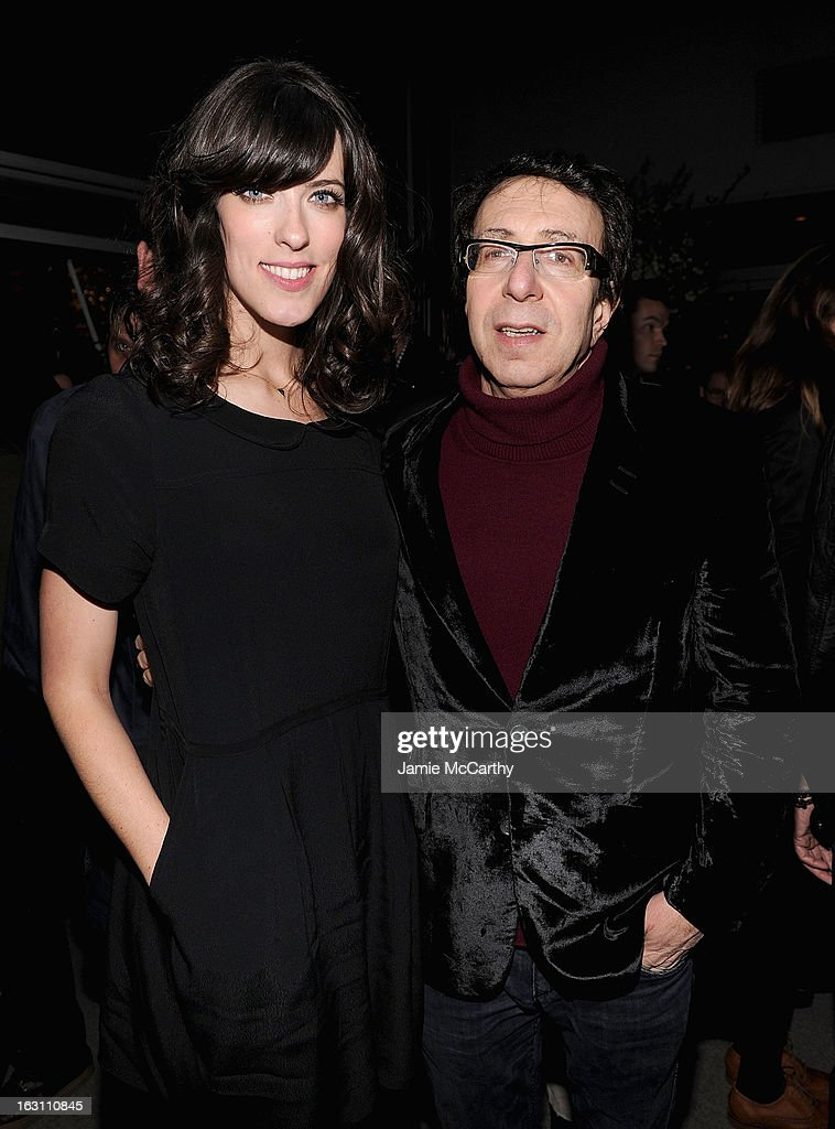 Director Rebecca Thomas and producer Richard Neustadter attend the after party for The Cinema Society & Make Up For Ever screening of 'Electrick Children' at Hotel Americano on March 4, 2013 in New York City.