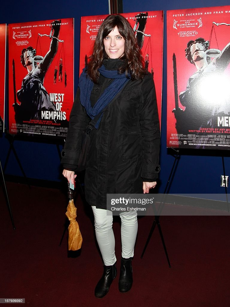 Director Rebecca Thomas attends the 'West Of Memphis' premiere at Florence Gould Hall on December 7, 2012 in New York City.