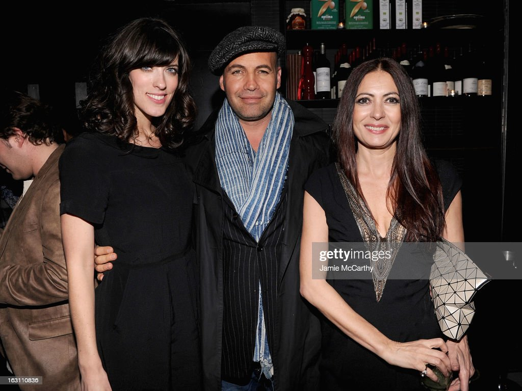 Director Rebecca Thomas,<a gi-track='captionPersonalityLinkClicked' href=/galleries/search?phrase=Billy+Zane&family=editorial&specificpeople=211418 ng-click='$event.stopPropagation()'>Billy Zane</a> and Catherine Malandrino attend the after party for The Cinema Society & Make Up For Ever screening of 'Electrick Children' at Hotel Americano on March 4, 2013 in New York City.