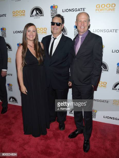 Director Rebecca Tickell Dan Aykroyd and director Josh Tickell attend the 'Good Fortune' New York Premiere at AMC Loews Lincoln Square 13 theater on...