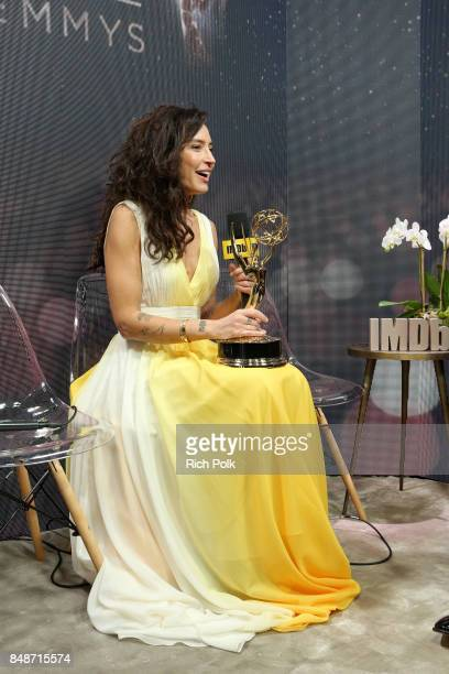Director Reed Morano winner of the award for Outstanding Directing in a Drama Series for 'The Handmaid's Tale' attends IMDb LIVE After the Emmys at...