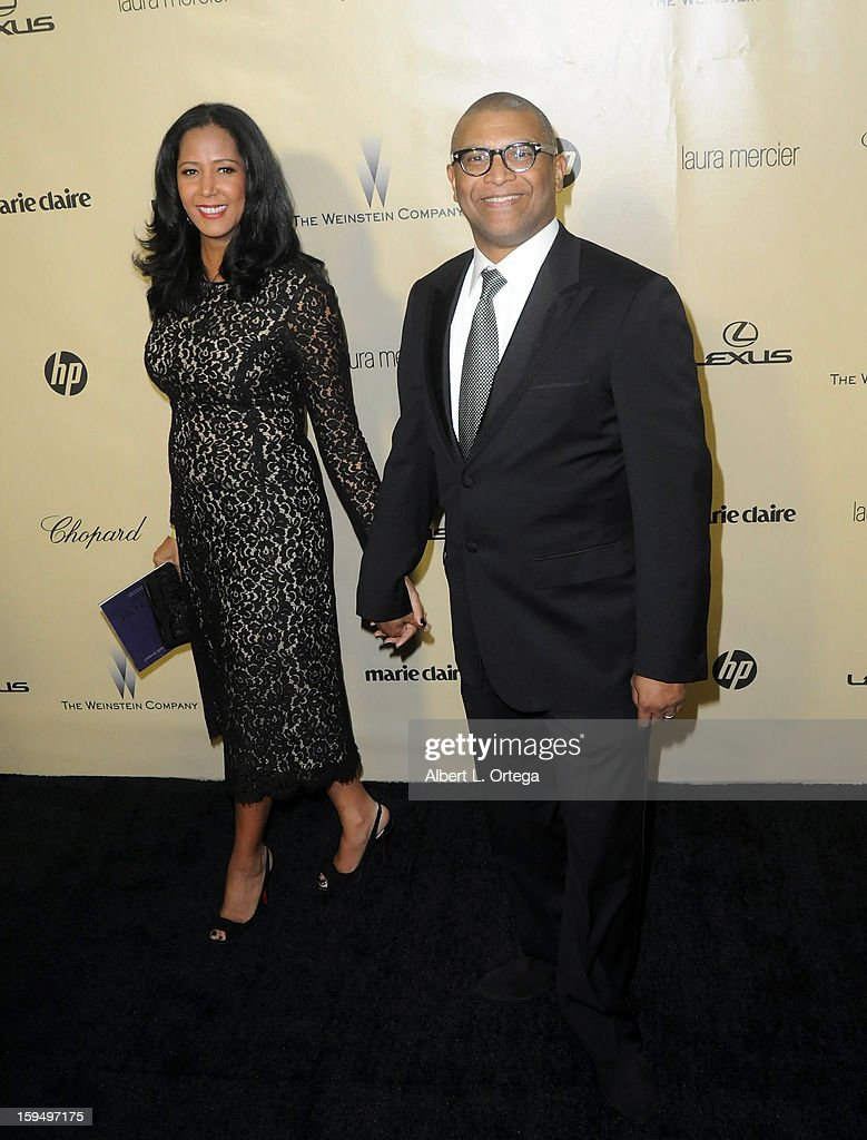 Director Reginald Hudlin arrives for the Weinstein Company's 2013 Golden Globe Awards After Party - Arrivals on January 13, 2013 in Beverly Hills, California.