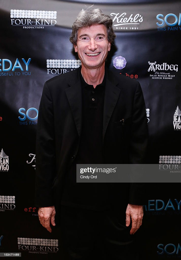 Director Renzo Badolisani attends the 'Someday This Pain Will Be Useful To You' New York Screening after party at Kiehl's Since 1851 Flagship Store on October 5, 2012 in New York City.