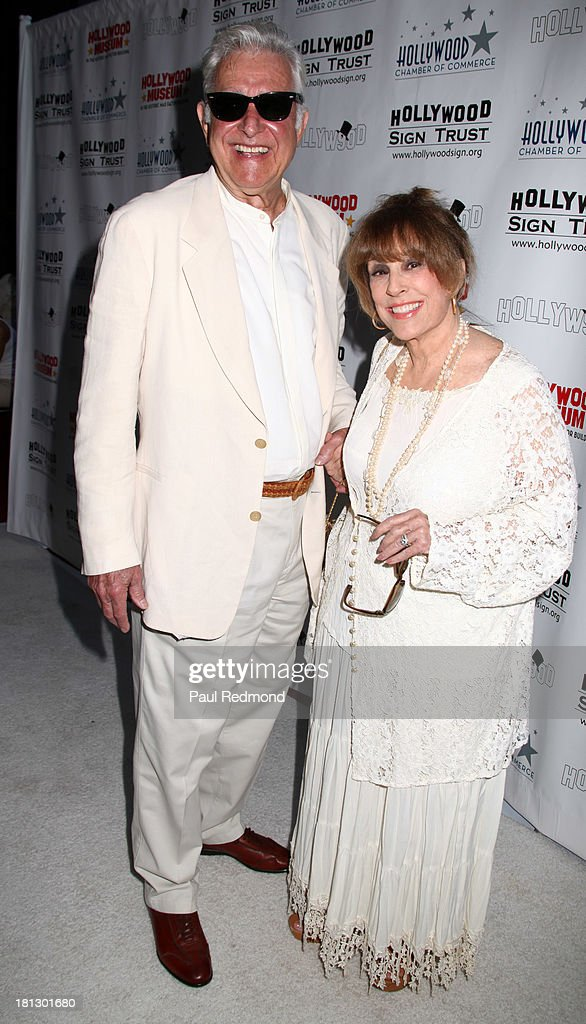 Director Richard Colla and actress Denise Alexander attend The Hollywood Chamber Of Commerce/The Hollywood Sign Trust's 'White Party' Celebrating 90th Anniversary Of The Hollywood Sign at Drai's Hollywood on September 19, 2013 in Hollywood, California.