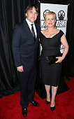 Director Richard Linklater and actress Patricia Arquette attend the 40th Annual Los Angeles Film Critics Association Awards at the Intercontinental...