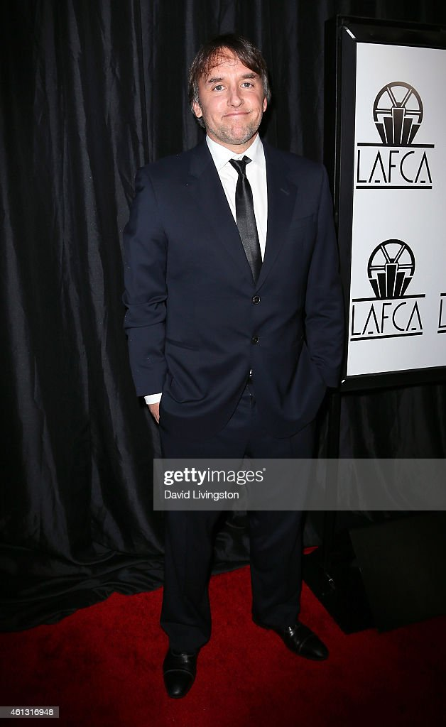 Director Richard Linklater attends the 40th Annual Los Angeles Film Critics Association Awards at the Intercontinental Century City on January 10...