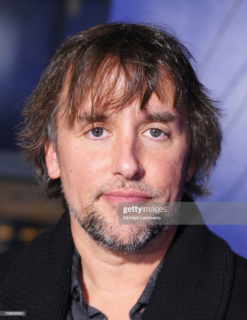 Director <a gi-track='captionPersonalityLinkClicked' href=/galleries/search?phrase=Richard+Linklater&family=editorial&specificpeople=242770 ng-click='$event.stopPropagation()'>Richard Linklater</a> attends the Before Midnight Premiere Cocktail Party at The Samsung Galaxy Lounge at Village At The Lift on January 20, 2013 in Park City, Utah.