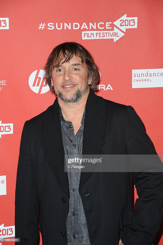 Director <a gi-track='captionPersonalityLinkClicked' href=/galleries/search?phrase=Richard+Linklater&family=editorial&specificpeople=242770 ng-click='$event.stopPropagation()'>Richard Linklater</a> attends the 'Before Midnight' premiere at Eccles Center Theatre during the 2013 Sundance Film Festival on January 20, 2013 in Park City, Utah.