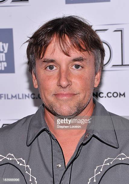 Director Richard Linklater attends the 'Dazed And Confused' 20th Anniversary Screening during the 51st New York Film Festival at Alice Tully Hall at...