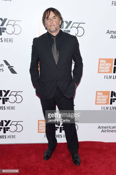 Director Richard Linklater attends the opening night premiere of 'Last Flag Flying' during the 55th New York Film Festival at Alice Tully Hall...