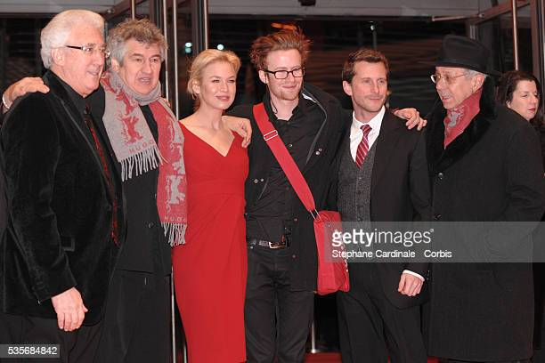 Director Richard Loncraine actors Renee Zellweger and Mark Rendall and Berlin Film Festival president Dieter Kosslick at the premiere of 'My One and...