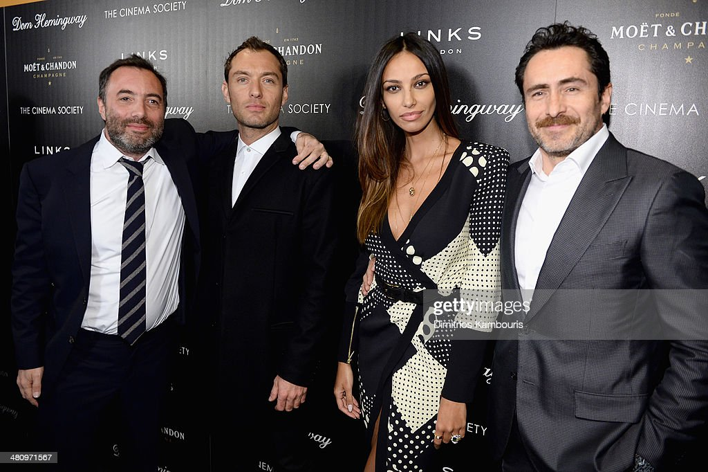 "The Cinema Society And Links Of London Host A Screening Of Fox Searchlight Pictures' ""Dom Hemingway"" - Inside Arrivals"