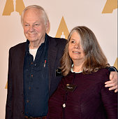 Director Richard Williams and producer Imogen Sutton attend the 88th Annual Academy Awards nominee luncheon on February 8 2016 in Beverly Hills...