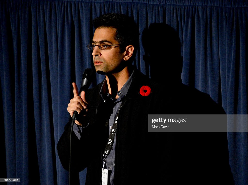 Director Richie Mehta speaks at a screening of 'Siddharth' at the at the 29th Santa Barbara International Film Festival on February 3, 2014 in Santa Barbara, California.