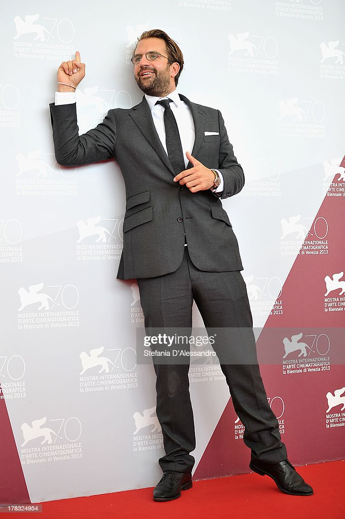 Director Rick Ostermann attends 'Wolfskinder' Photocall during the 70th Venice International Film Festival on August 29, 2013 in Venice, Italy.