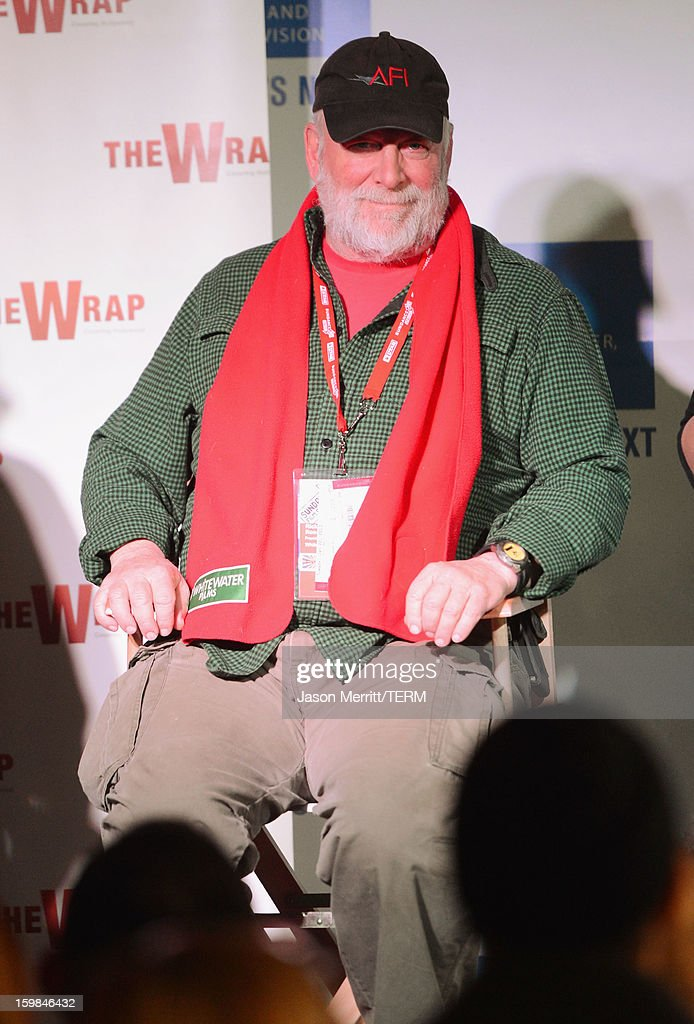 Director <a gi-track='captionPersonalityLinkClicked' href=/galleries/search?phrase=Rick+Rosenthal&family=editorial&specificpeople=1627091 ng-click='$event.stopPropagation()'>Rick Rosenthal</a> speaks during UCLA and The Wrap Sundance 2013 Panel at The Claim Jumper on January 21, 2013 in Park City, Utah.