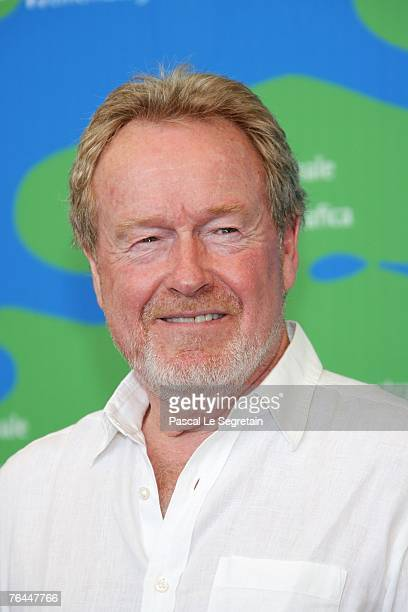 Director Ridley Scott attends the Blade Runner photocall in Venice during day 4 of the 64th Venice Film Festival on September 1 2007 in Venice Italy