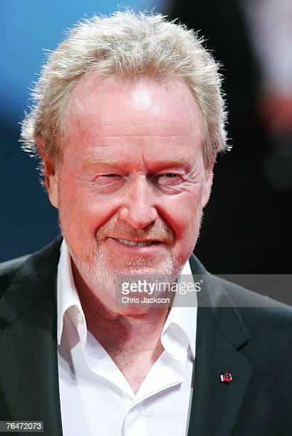 Director Ridley Scott attends the Blade Runner premiere in Venice during day 4 of the 64th Venice Film Festival on September 1 2007 in Venice Italy