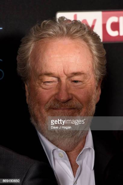 Director Ridley Scott attends the 'Murder On The Orient Express' World Premiere at Royal Albert Hall on November 2 2017 in London England