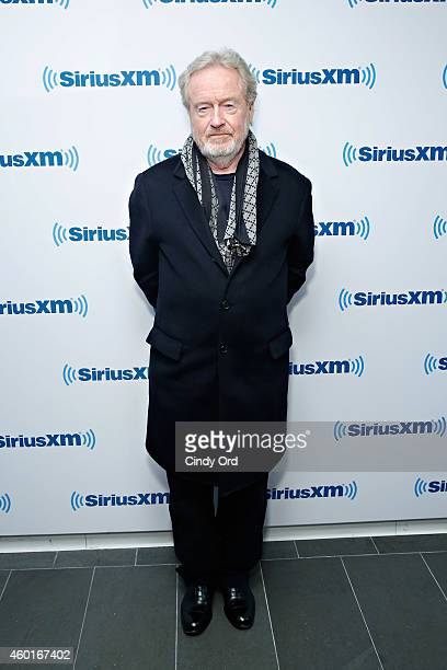 Director Ridley Scott visits the SiriusXM Studio on December 8 2014 in New York City