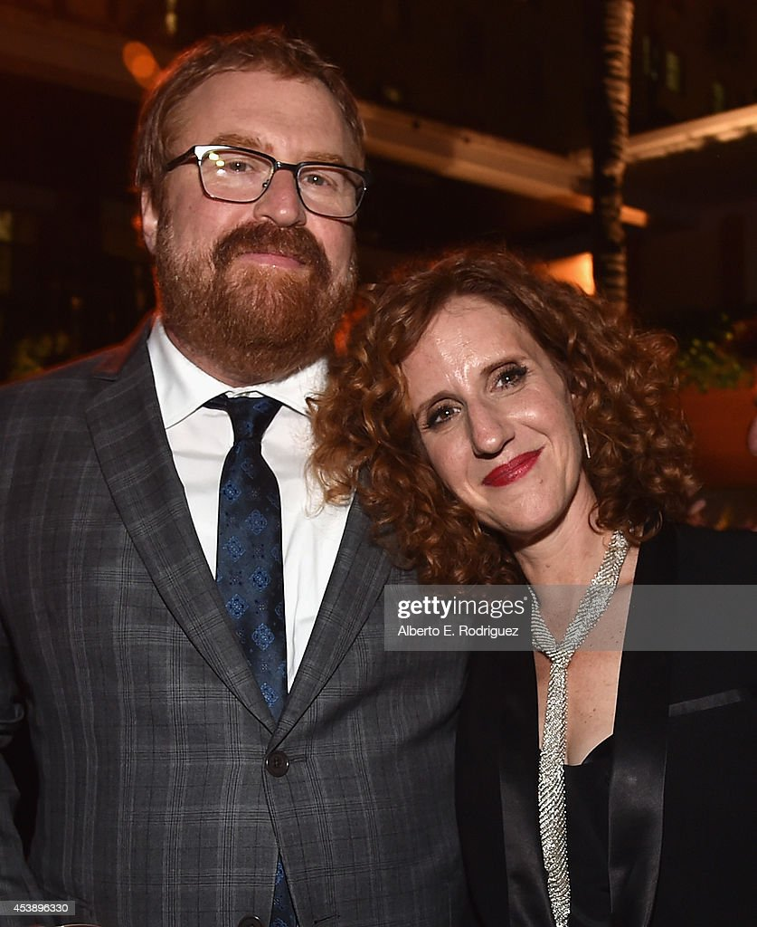 Director R.J. Cutler and author Gayle Forman attend the premiere of New Line Cinema's and Metro-Goldwyn-Mayer Pictures' 'If I Stay' at The Roosevelt Hotel on August 20, 2014 in Hollywood, California.