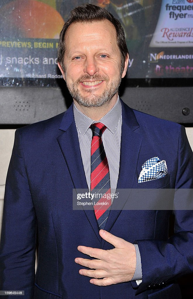 Director Rob Ashford attends the 'Cat On A Hot Tin Roof' Opening Night at Richard Rodgers Theatre on January 17, 2013 in New York City.