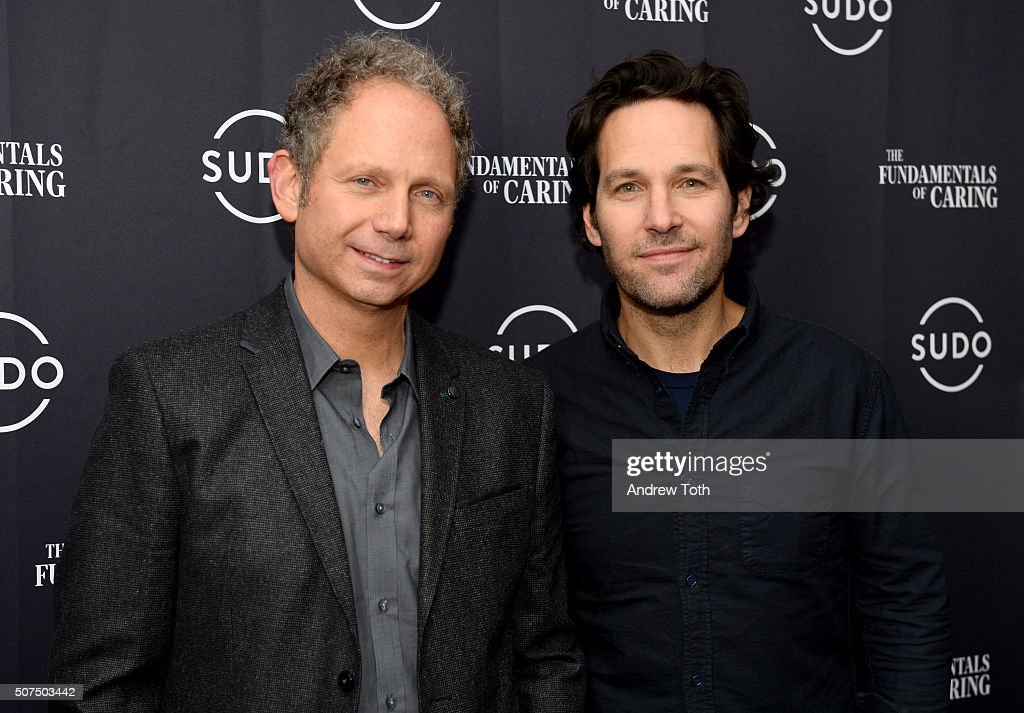 Director Rob Burnett and Paul Rudd attend 'Fundamentals of Caring' party hosted by SUDO at Acura on January 29 2016 in Park City Utah