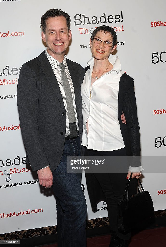 Director Rob Lindley and choreographer Mindy Cooper attend the '50 Shades! The Musical' Off Broadway opening night>> at Elektra Theatre on March 12, 2014 in New York City.