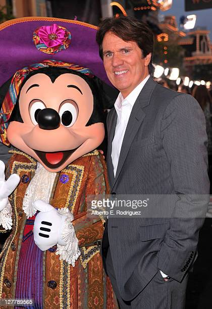 Director Rob Marshall arrives at the world premiere of 'Pirates Of The Caribbean On Stranger Tides' at Disneyland on May 7 2011 in Anaheim United...