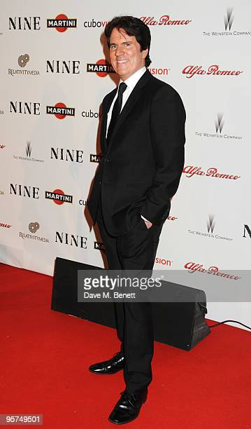 Director Rob Marshall attend the Rome screening of 'NINE' cohosted by Martini at the Auditorium Conciliazione on January 13 2010 in Rome Italy