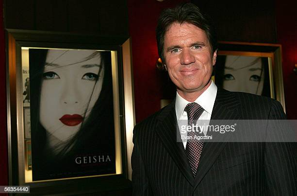 Director Rob Marshall attends the New York premiere of Columbia Pictures' 'Memoirs of a Geisha' at The Ziegfield Theatre on December 6 2005 in New...