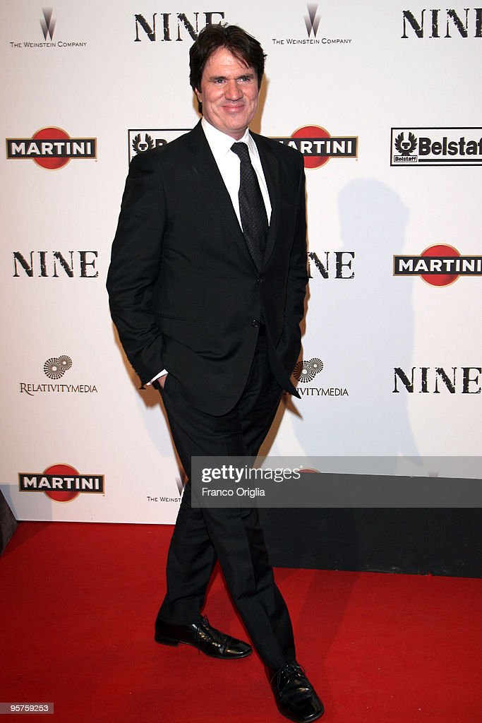 Director Rob Marshall attends the Rome Premiere Party of 'NINE' cohosted by Belstaff at the Auditorium della Conciliazione on January 13 2010 in Rome...