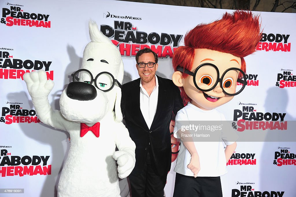 Director Rob Minkoff arrives at the Premiere of Twentieth Century Fox and DreamWorks Animation's 'Mr Peabody Sherman' at Regency Village Theatre on...