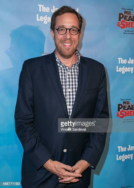 Director Rob Minkoff attends the DreamWorks Animation and Twentieth Century Fox Home Entertainment Present The Jay Ward Legacy exhibit at The Paley...