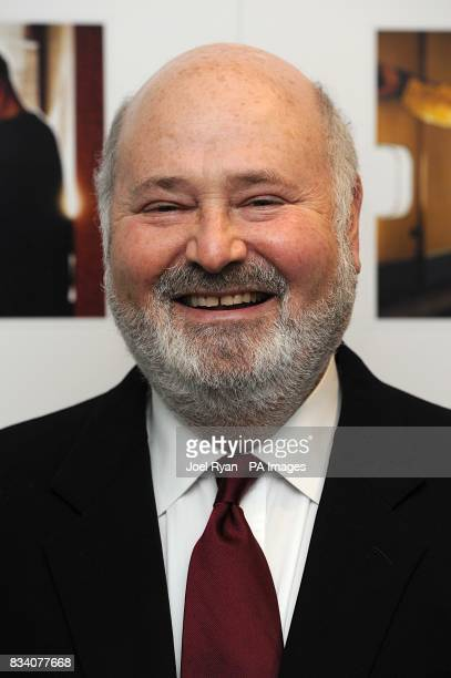 Director Rob Reiner arrives for the UK Premiere of The Bucket List at the Vue West End London