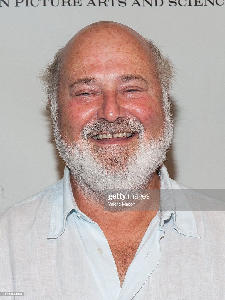 Director Rob Reiner attends the Academy Of Motion Picture Arts And Sciences' Presents 'The Princess Bride' With Live Commentary Onstage at AMPAS...