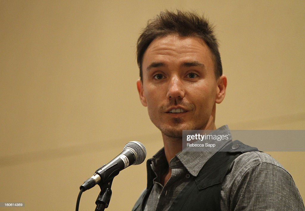 Director Rob Stewart, winner of the 'Fund for Santa Barbara Social Justice Award for Documentary Film' attends the 28th Santa Barbara International Film Festival Awards Breakfast on February 3, 2013 in Santa Barbara, California.