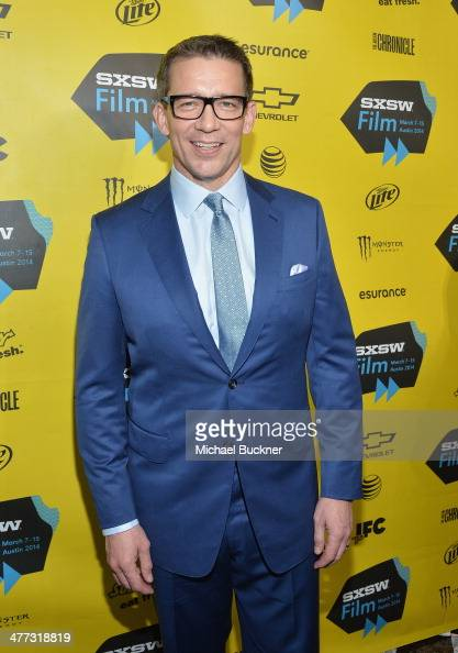 Director Rob Thomas arrives at the premiere of 'Veronica Mars' during the 2014 SXSW Music Film Interactive Festival at the Paramount Theatre on March...