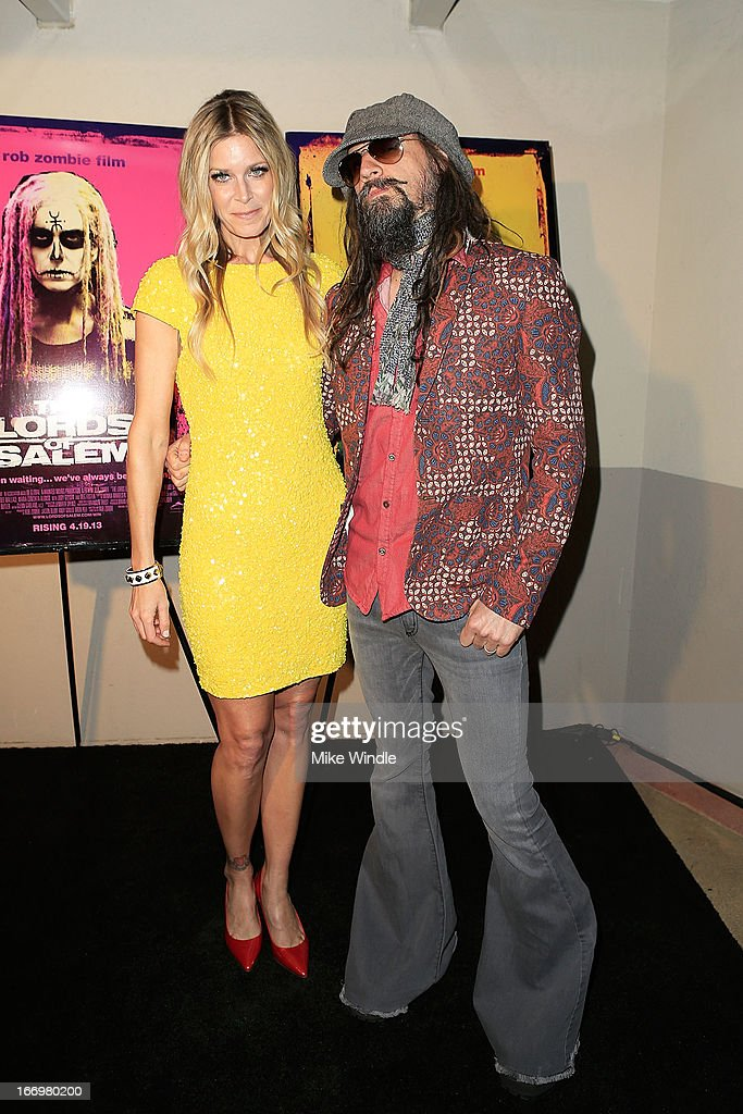 Director <a gi-track='captionPersonalityLinkClicked' href=/galleries/search?phrase=Rob+Zombie&family=editorial&specificpeople=217722 ng-click='$event.stopPropagation()'>Rob Zombie</a> (R) and actress <a gi-track='captionPersonalityLinkClicked' href=/galleries/search?phrase=Sheri+Moon&family=editorial&specificpeople=2360728 ng-click='$event.stopPropagation()'>Sheri Moon</a> Zombie arrive at <a gi-track='captionPersonalityLinkClicked' href=/galleries/search?phrase=Rob+Zombie&family=editorial&specificpeople=217722 ng-click='$event.stopPropagation()'>Rob Zombie</a>'s 'The Lords Of Salem' Los Angeles premiere at AMC Burbank 16 on April 18, 2013 in Burbank, California.