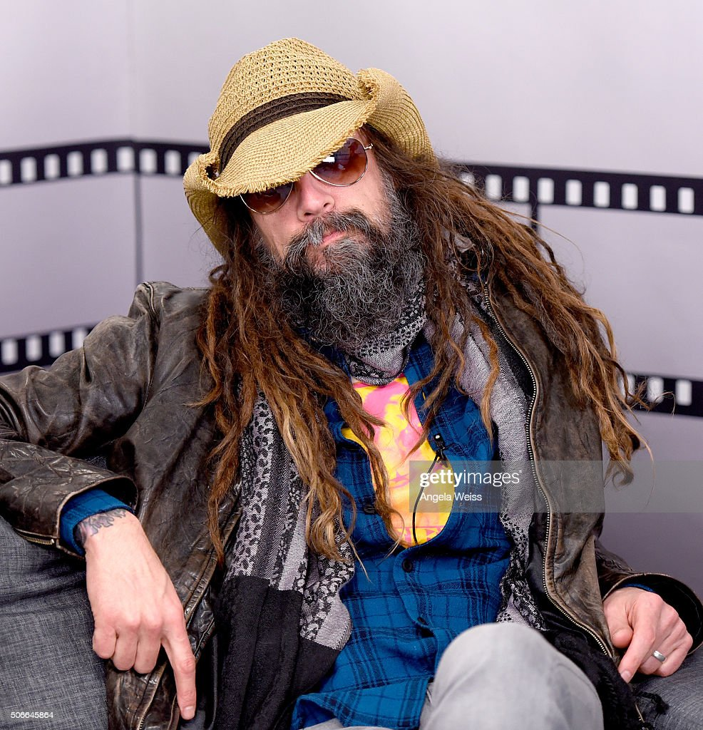 Director Rob Zombie live in The IMDb Studio In Park City for 'IMDb Asks' Day Three on January 24 2016 in Park City Utah