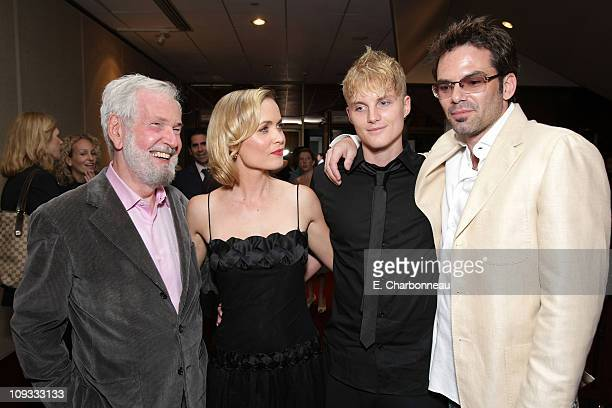 Director Robert Benton Radha Mitchell Toby Hemingway and Billy Burke at the 'Feast of Love' Premiere at The Academy of Motion Picture Arts and...