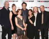 Director Robert Falls Glenne Headly Juliet Brett Bill Pullman Playwright Beth Henley Amy Madigan and Ed Harris attend 'The Jacksonian' opening night...