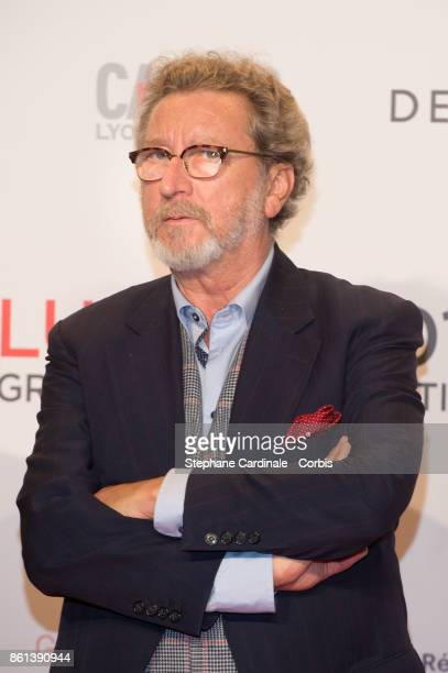 Director Robert Guediguian attends the Opening Ceremony of the 9th Film Festival Lumiere on October 14 2017 in Lyon France