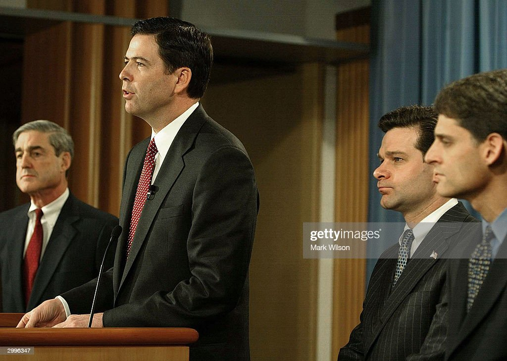Image result for photos of robert mueller and james comey