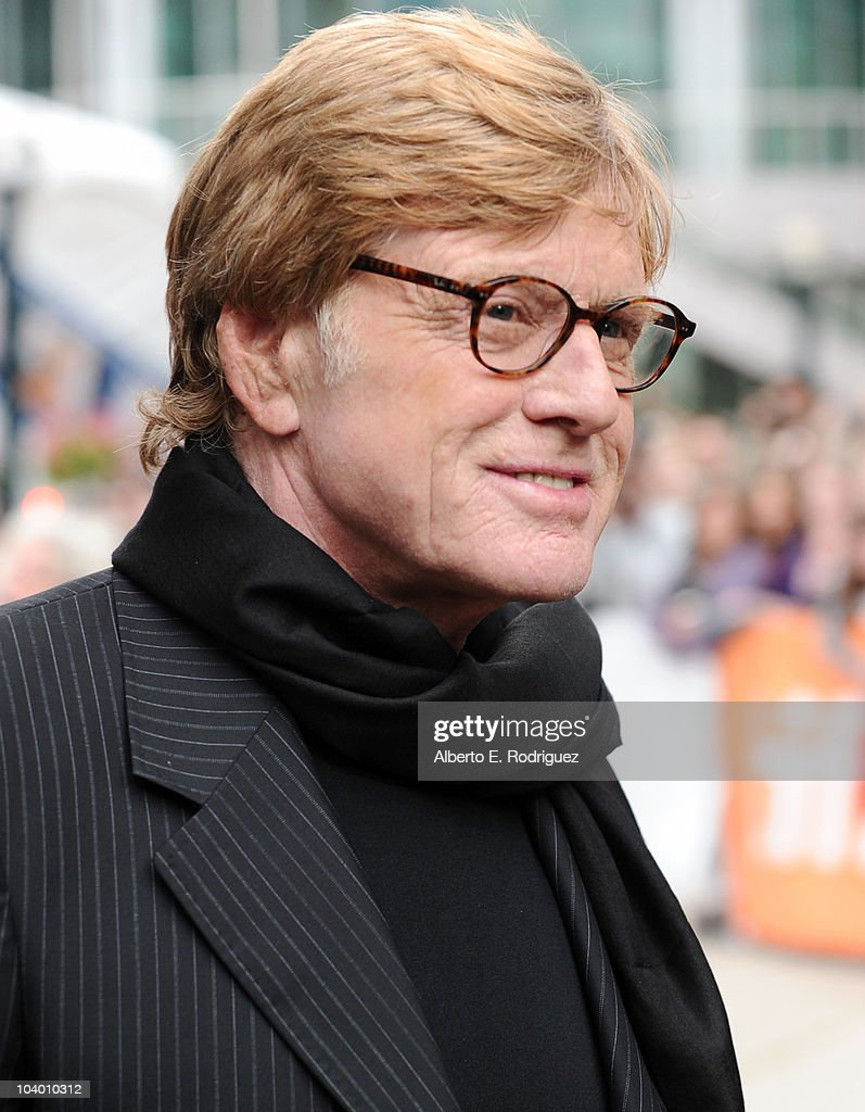 Director Robert Redford arrives at the 'The Conspirator' Premiere held at Roy Thomson Hall during the 35th Toronto International Film Festival on September 11, 2010 in Toronto, Canada.
