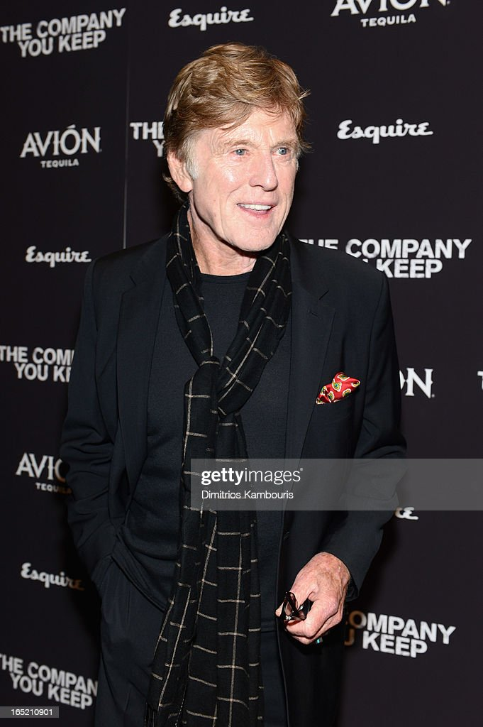 Director Robert Redford attends 'The Company You Keep' New York Premiere at MOMA on April 1, 2013 in New York City.